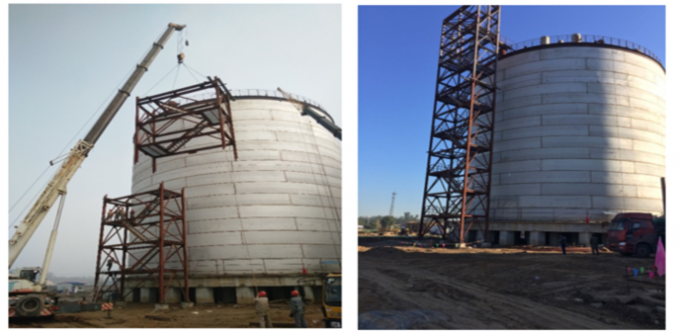 Cryogenic Ethylene Full Containment LNG Storage Tank SS304 Main Material