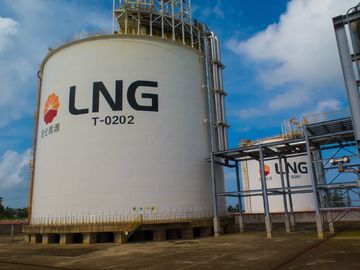 Terminal Station LNG Regasification Terminal 2x20000m3 LNG Storage Tank Of CNCP