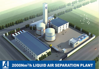 China Full Liquid Air Separation Plant , ASP ASU Air Separation Unit 2000Nm3/H factory