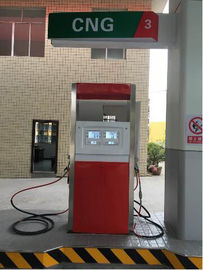Safe CNG Dispenser Cryogenic Equipment With Highlight Backlight LCD