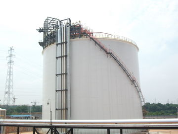 China One Containment Cryogenic Storage Tanks 20000m3 Vertical Cylindrical Flat Bottom factory