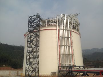 China 06Cr19Ni10 Q345R Single Containment LNG Storage Tank Large Gas Storage Tanks factory