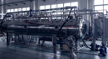 China SUS304 Stainless Steel Supercritical CO2 Extraction Machine Vacuum Auto Belt Dryer factory