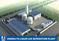 Full Liquid Air Separation Plant , ASP ASU Air Separation Unit 2000Nm3/H
