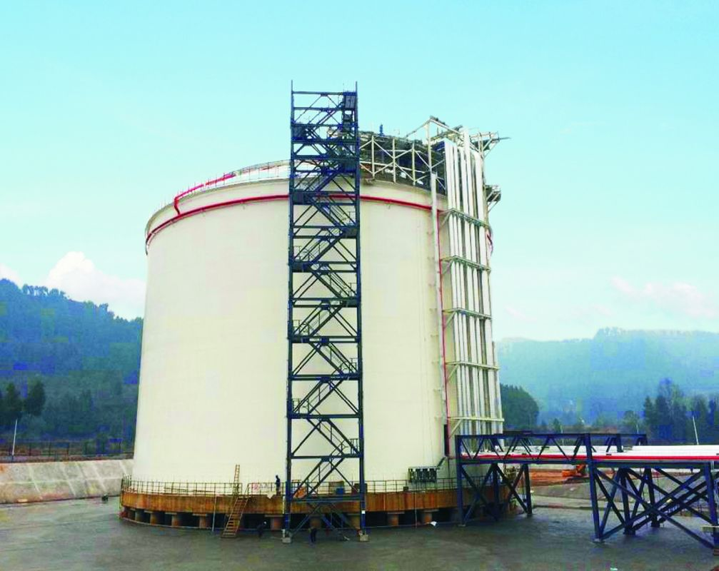 Stainless Steel Cryogenic LNG Storage Tanks 30000m3 For Beverage / Liquid