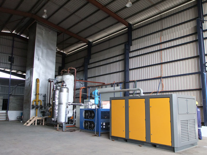 120Nm3/H Skid Mounted Industrial Oxygen Generator Cryogenic Gas Plant