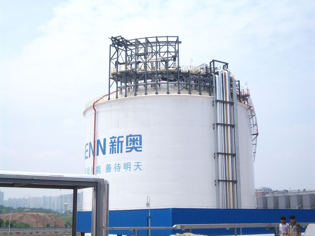One Containment Cryogenic Storage Tanks 20000m3 Vertical Cylindrical Flat Bottom supplier