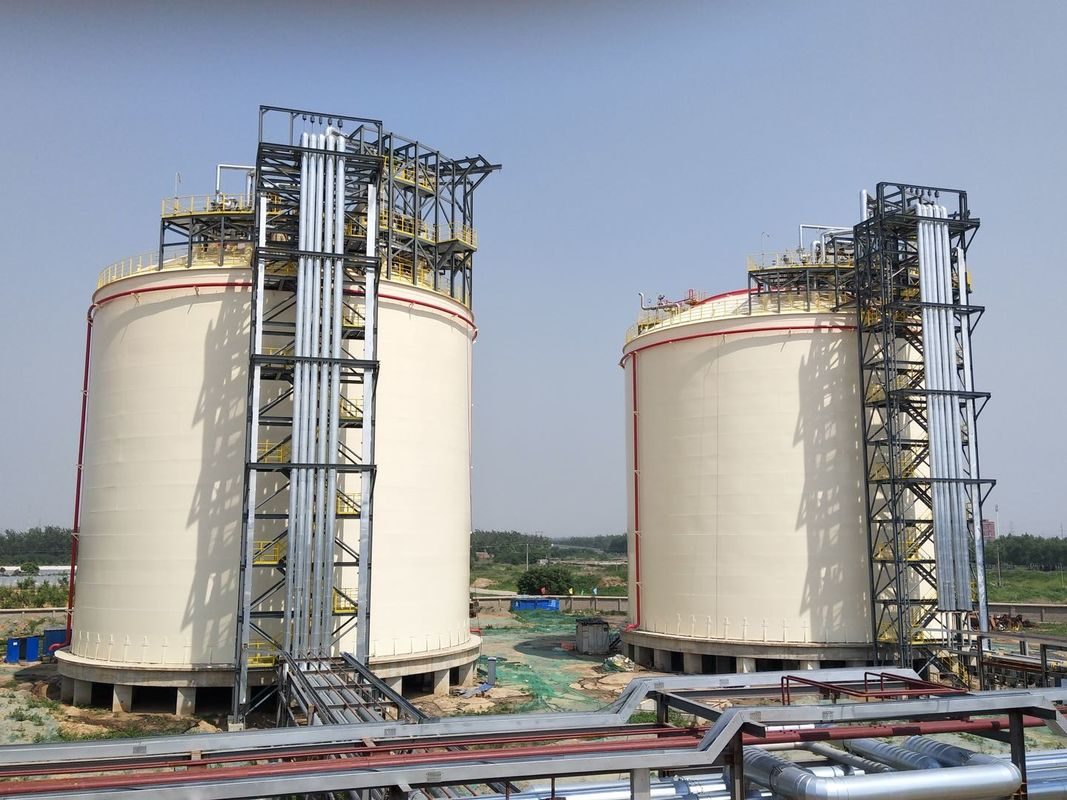 Natural Gas Storage Tank 10000m3 Single Containment LNG Tank ISO9001 CE supplier