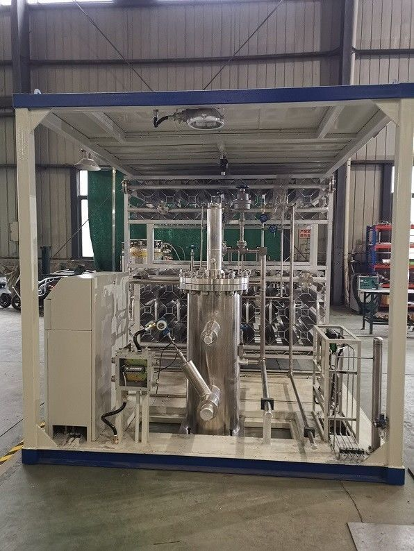 1.6MPa Submersible LNG Pump Skid Cryogenic Gas Processing Plant